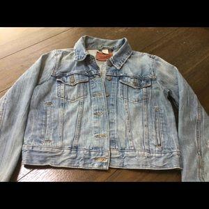 Levi Strauss Co denim junior large jacket